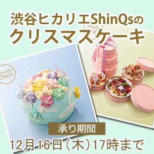 ShinQのクリスマスケーキ・デリ
