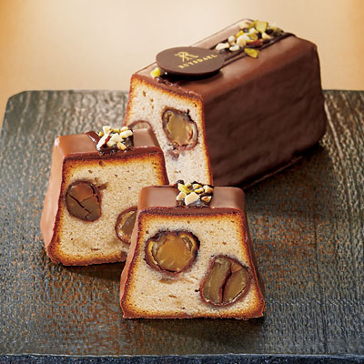 〈ロイスダール〉四万十栗のショコラパウンドケーキ