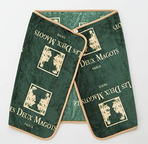 ドゥマゴ日本上陸30周年記念「東急百貨店オリジナルブランケット(グリーン)