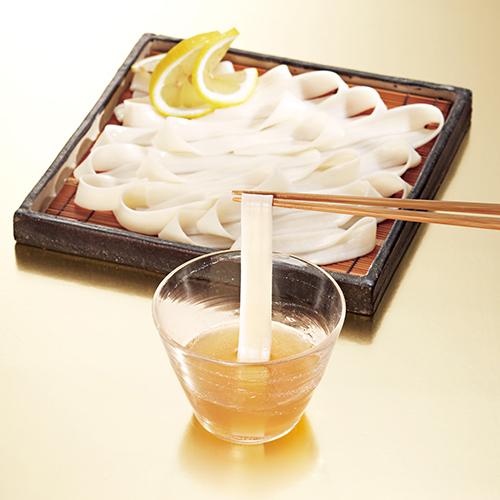 [群馬]〈花山うどん〉花山御膳 東京はちみつの檸檬オリーブつゆ