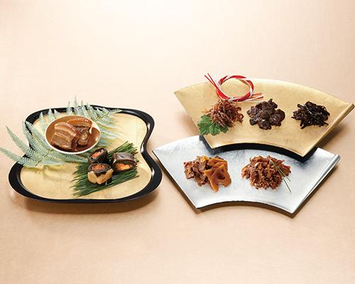 〈赤坂松葉屋〉×〈浅草今半〉×〈海老屋總本舗〉極味伝心 コラボレーション惣菜詰合せ