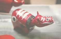 「赤べこ」グッズの特別セット 工芸品 | イメージ画像