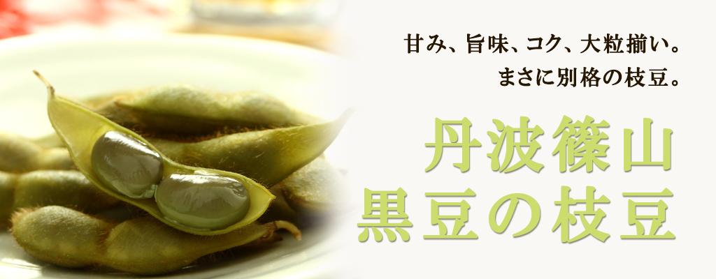 丹波篠山黒豆の枝豆