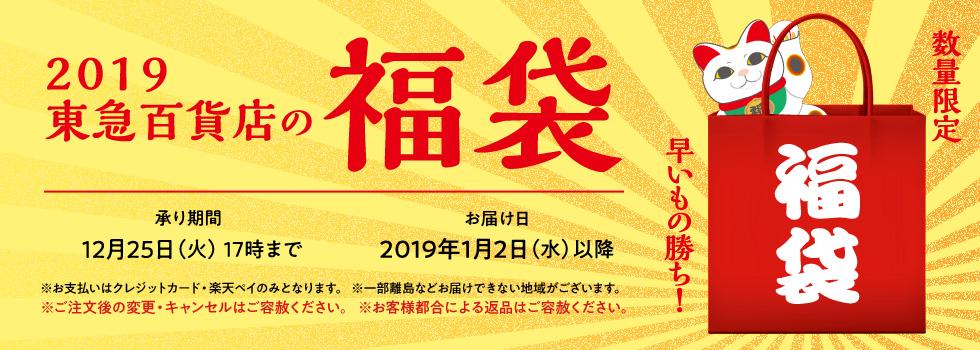 2019 東急百貨店の福袋