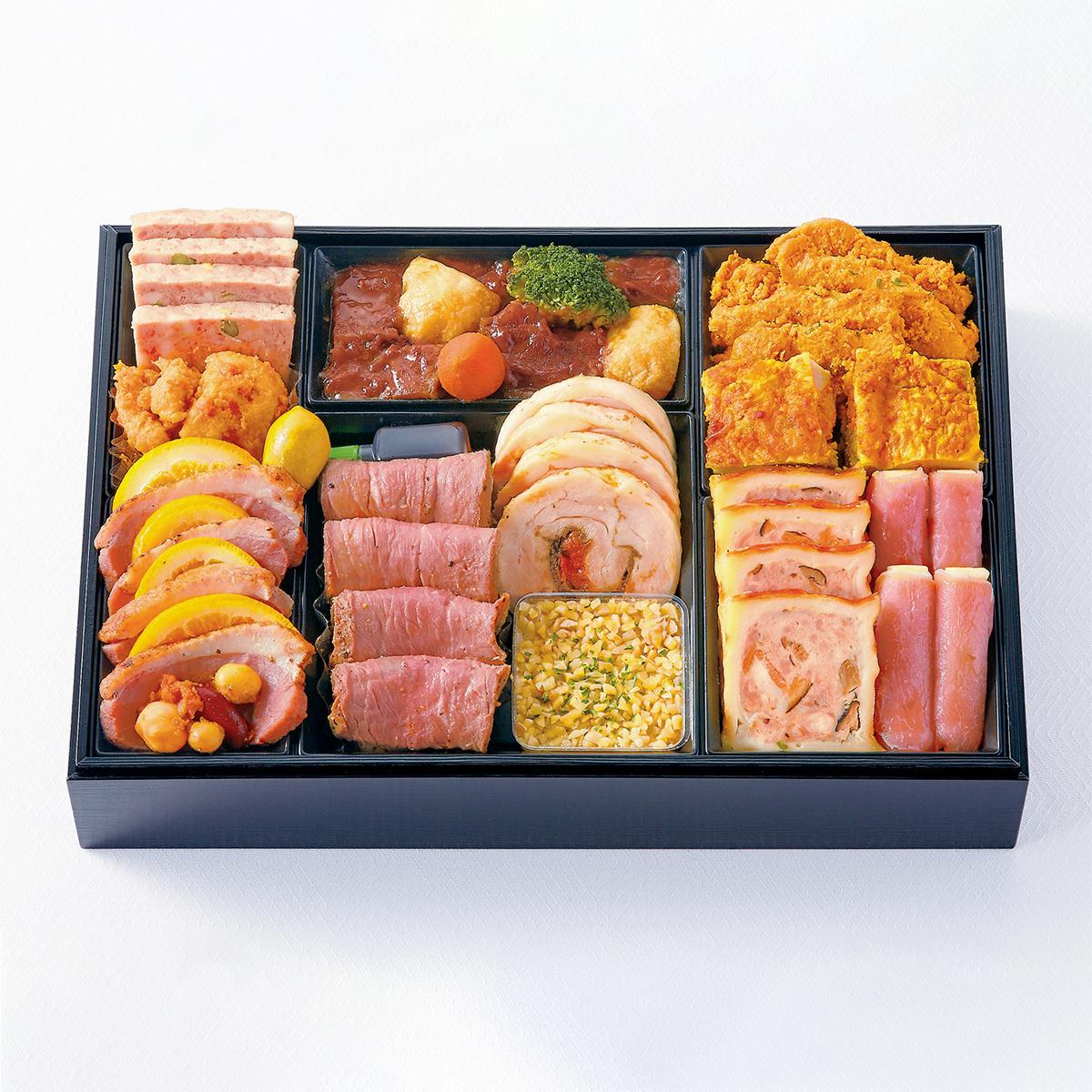 肉食派も満足 お肉メニュー充実おせち
