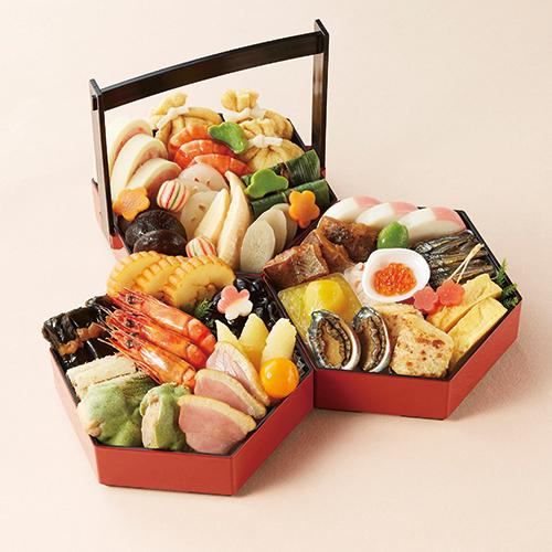 〈京菜味のむら〉「八坂」和風三段重