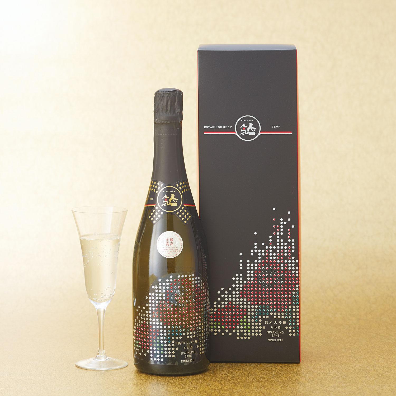 [福島]泡酒「人気一」 あわ酒スパークリング 純米大吟醸