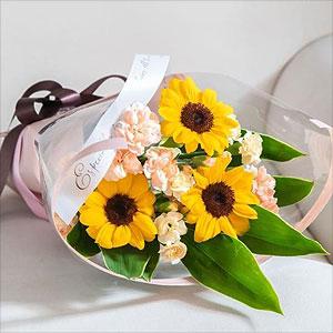 ≪日比谷花壇≫花束「オランジュ」