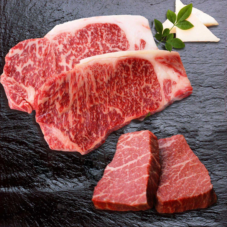 ≪精肉あづま≫熊本県産あか牛 ステーキ食べ比べセット
