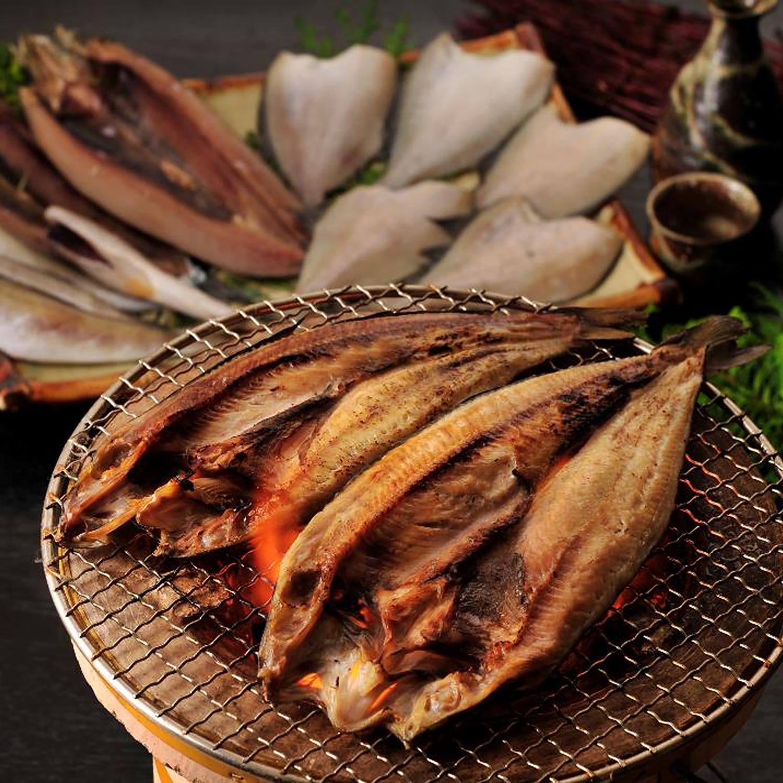 ≪ぎょれん≫「北海道浜の朝食」干物4種