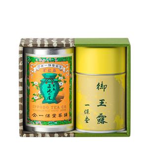 ≪一保堂茶舗≫玉露滴露・煎茶正池の尾