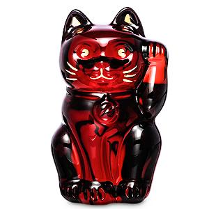 ≪バカラ≫まねき猫 レッド