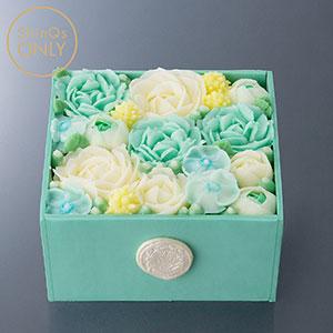 ≪CONCENT≫フラワーボックスケーキ