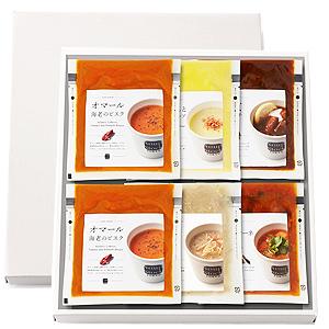 ≪スープストックトーキョー≫人気の6スープセット