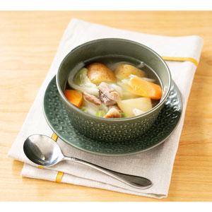 国産野菜と無塩漬ベーコンの洋風煮(ポトフ)