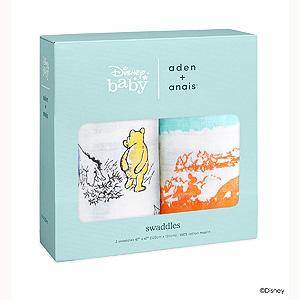 ≪エイデン&アネイ≫ディズニーコレクションスワドル(おくるみ)2枚入 ウィニースケープ