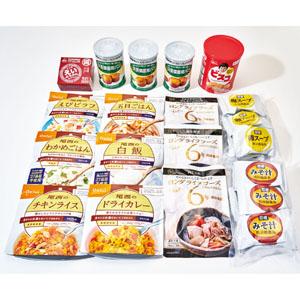 5年保存 東急百貨店オリジナル非常食セット3日分 16種 計26個