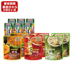 《東急百貨店通販防災》5年保存 〈カゴメ〉野菜の保存食セット