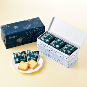 ≪ISHIYA≫白い恋人 27枚缶入 ホワイト☆(冷蔵)