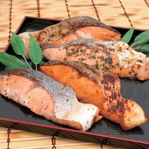 ≪四季舎≫秋鮭味比べ詰合せ(8切) ★
