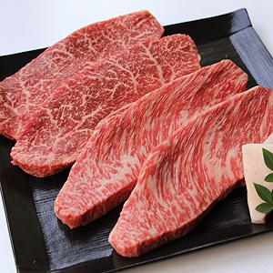 ≪精肉あづま≫国産黒毛和牛モモステーキ食べ比べセット W-501