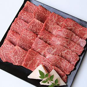≪精肉あづま≫国産黒毛和牛モモ焼肉用食べ比べセット W-502