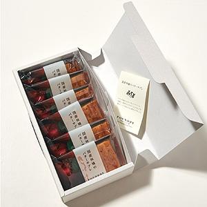 ≪ファウンドリー≫国産林檎のバターサブレ 6個入
