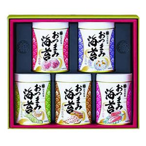 ≪山本海苔店≫おつまみ海苔 5缶セット (YOS3A)