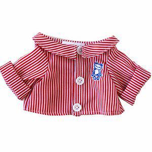 ≪かえるのピクルス≫ミニストライプシャツ 107565-17