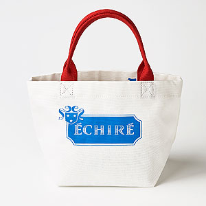 ■≪エシレ・パティスリー オ ブール≫トートバッグ(ホワイト)