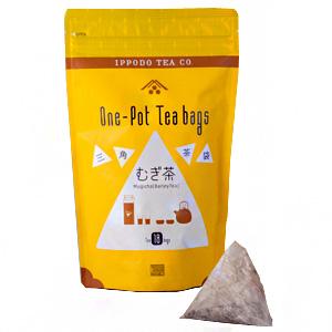 ≪一保堂茶舗≫三角茶袋 (むぎ茶)
