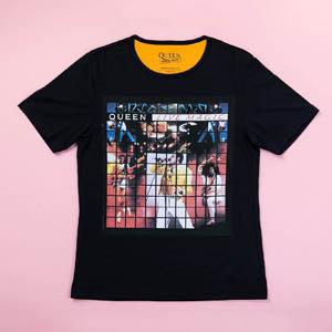 ≪カルト≫ミュージックTシャツ クイーン2(ブラック)