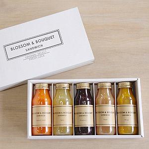 ≪BLOSSOM & BOUQUET≫こだわりの果汁 ギフトBOX