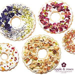 ≪アップルアンドローゼス≫オリジナル5種オーナメントクッキー