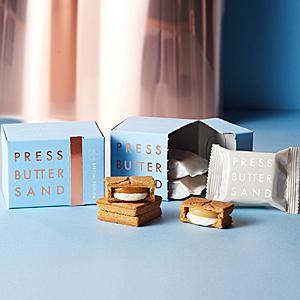 ≪プレスバターサンド≫バターサンド2種詰合せ〈白〉×2箱セット