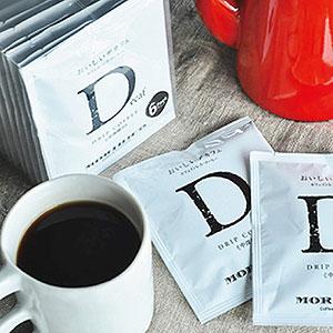 敬老の日≪モリヒコ(北海道どさんこプラザ)≫カフェインレスコーヒー おいしいデカフェ ドリップバッグ 6個詰合せ