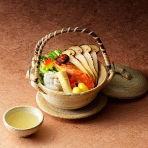 ◇敬老の日≪京料理 美濃吉≫国産 松茸土瓶蒸し松茸2人前(送料込) ★