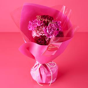 ≪青山フラワーマーケット≫メルシーママン・シュシュフルール(ピンク)