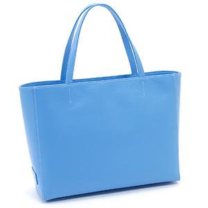 母の日ギフト≪キタムラ≫トートバッグ Y-1198(ブルー/ホワイトステッチ20907)渋谷スクランブル限定カラー