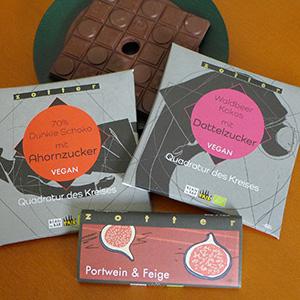 ≪ZOTTER(ゾッター)≫オルタナティブシュガーチョコレート3種セット