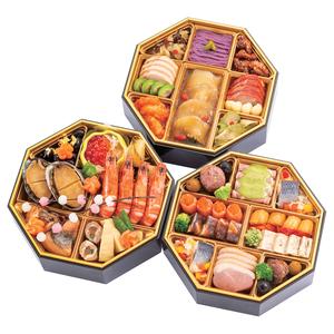 ≪御料理ほりうち×morceau×中国料理 美虎≫和洋中おせち三段重