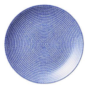 ≪アラビア≫24th トゥオキオ 26cmプレート(ブルー)