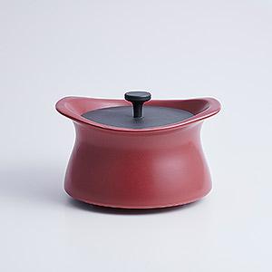 ≪best pot≫20cm マロンレッド