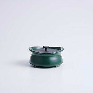 ≪best pot≫mini shallow ティーリーフグリーン
