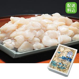 〈網走水産〉北海道産 お刺身ほたて貝柱 割れ品