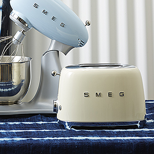 ≪ラ・クッチーナ・フェリーチェ≫SMEG(スメッグ) トースター(Cream)