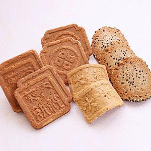 ≪諏訪・大社煎餅≫煎餅詰合せ ピーナツ・カステラ・ごま(56枚)