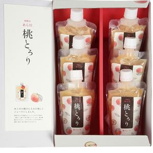 ≪和歌山県・八旗農園≫あら川の桃ジュース「桃とろり」☆