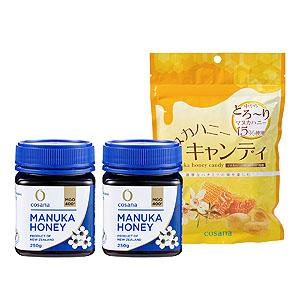 ≪AFCショップ(健康食品)≫マヌカハニーMGO400セット