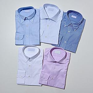 ワイシャツ5枚セット(形態安定加工)
